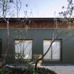 Jardines zen de estilo  por 吉川弥志設計工房