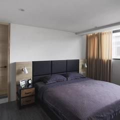 اتاق خواب by 禾廊室內設計