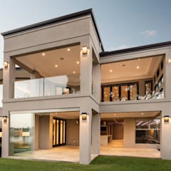 Exterior - Back of Home:  Detached home by Moda Interiors