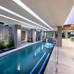Mosman Park:  Garden Pool by Moda Interiors