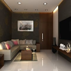 1 BHK Flats in Mumbai:  Single family home by Mayfair Housing