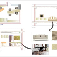 Commercial:  Commercial Spaces by KAY'S DESIGN LAB