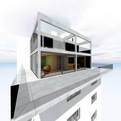 Penthouse Aufstockung:  Mehrfamilienhaus von Peter Stasek Architects - Corporate Architecture