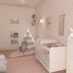 Baby room by The Spacealist - Arquitectura e Interiores