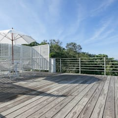 Flat roof by Co*Good Design Co. Ltd.