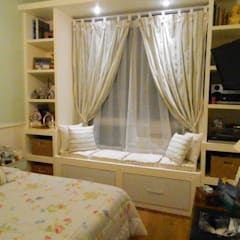 Bedroom by mr maria regina de mello vianna arquitetura e interiores