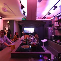 台南玉井 林公館:  廚房 by 協億室內設計有限公司