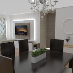 Sala comedor: Comedores de estilo clásico por Naromi  Design