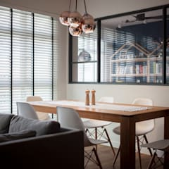 COMPASSVALE ANCILIA II: scandinavian Dining room by Eightytwo Pte Ltd