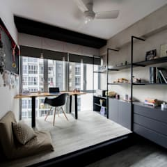 HILLSTA:  Study/office by Eightytwo Pte Ltd,