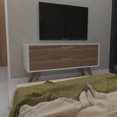 Viviendas prefabricadas modelo Basic: Dormitorios de estilo  de A-kotar
