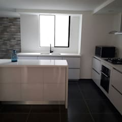 置入式廚房 by Sipte Design