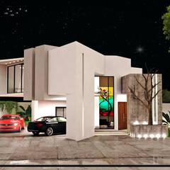 casa A2: Villas de estilo  por A2 ARQUITECTOS