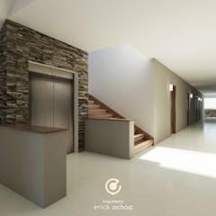 Corridor & hallway by ARQ. ERICK OCHOA