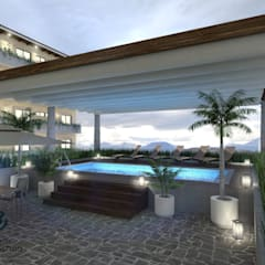 Pool by ARQ. ERICK OCHOA, Colonial