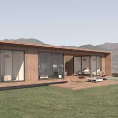 Vivienda Los Choros: Parcelas de agrado de estilo  por Uno Arquitectura