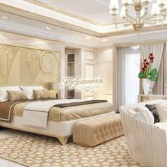 Luxury house decoration by Katrina Antonovich:  Bedroom by Luxury Antonovich Design, Modern