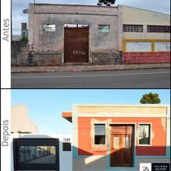 Puertas de garajes de estilo  por Juliana Agner Arquitetura e Interiores