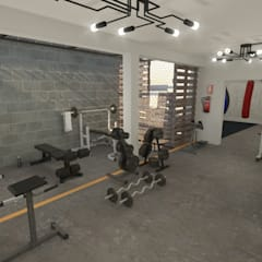 industrial Gym by Summa Arquitectura