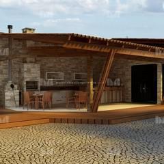 Garage/shed by Marcelo Brasil Arquitetura
