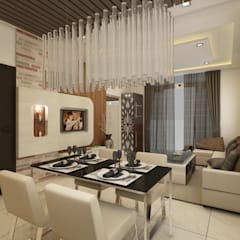 Mr. Rajesh Reddy :  Dining room by Regalias India Interiors & Infrastructure