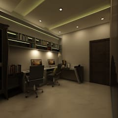 Regalias India Interiors & Infrastructure의  서재 & 사무실