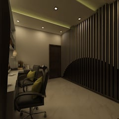 Study/office by Regalias India Interiors & Infrastructure