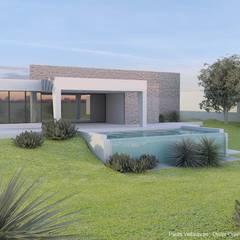Bungalows de estilo  por FHS Casas Prefabricadas