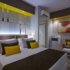 Palmiye Peyzaj Mimarlık – FODELE BEACH HOTEL - TEMALI ODALAR:  tarz Oteller