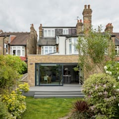 House Extension, Southgate, London:  Terrace house by Model Projects Ltd