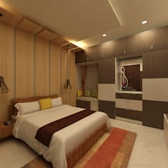 اتاق خواب توسطhomify, مدرن