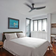 CLEMENTI PARK:  Bedroom by Eightytwo Pte Ltd,