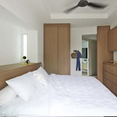 COTE D'AZUR:  Bedroom by Eightytwo Pte Ltd
