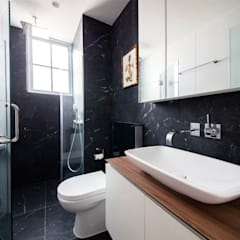 EASTWOOD GREEN:  Bathroom by Eightytwo Pte Ltd,Scandinavian