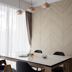 ECOPOLITAN: scandinavian Dining room by Eightytwo Pte Ltd