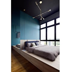 ECOSANCTUARY: scandinavian Living room by Eightytwo Pte Ltd