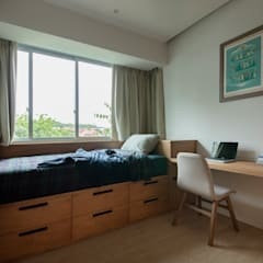 THE STELLAR Minimalist bedroom by Eightytwo Pte Ltd Minimalist