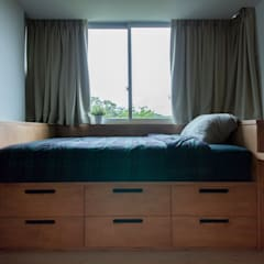 THE STELLAR Scandinavian style bedroom by Eightytwo Pte Ltd Scandinavian