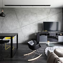 THOMSON THREE: modern Living room by Eightytwo Pte Ltd