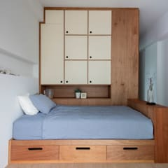 scandinavian Bedroom by Eightytwo Pte Ltd