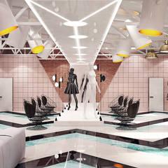 Oficinas y Tiendas de estilo  por Art-i-Chok, Industrial