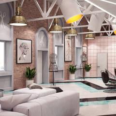 Оригинальный дизайн интерьера коммерческого помещения: Выставочные центры в . Автор – Art-i-Chok