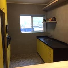Interior Cocina: Muebles de cocinas de estilo  por PICHARA + RIOS arquitectos