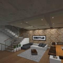 Corporativo Reisa Rodillos S.A. de C.V.: Edificios de Oficinas de estilo  por HC Arquitecto