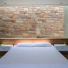 CASA TERRAZA: Dormitorios de estilo  por Chetecortés