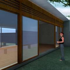 Ventanas de madera de estilo  por ODVO Arquitetura e Urbanismo