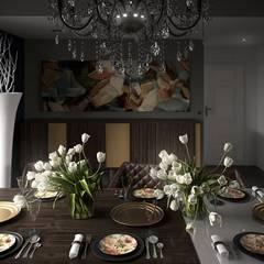 Projecto 3D: Salas de jantar  por Dolcenea Design