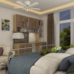 Boys Bedroom by homify, Modern