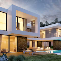 MORADIA PF1: Casas  por Traçado Regulador. Lda