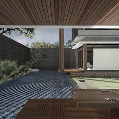 Casas unifamilares de estilo  de Studio Avana, Tropical